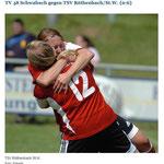 Siegerjubel nach Relegationssieg