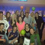 Bowlingabend im BluBowl Nürnberg 2015