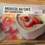 Rezept Mousse au Cafe mit Granatapfel gesehen