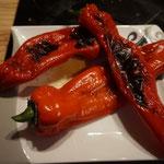 Rezept gefuellte Spitzpaprika mit Kraeuter Frischkaese im Blaetterteigmantel