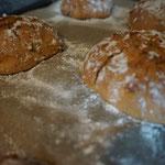 Rezept saftige Kartoffelbroetchen mit leckerer Kruste und Samen