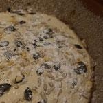 Rezept saftiges Kuerbiskernbrot mit Samen