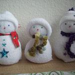 süße Schneemänner