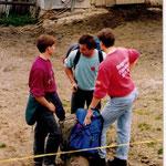 Turnfahrt 1993 Stanserhorn-Wirzweli