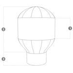 Aufblasbarer Ballon Konstruktion
