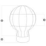 Heliumballon Konstruktion