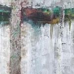 """Biala Góra"" -  Acryl, Tusche, 135 x 85 x 4 cm"