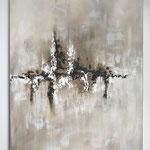 Traumreise, 2018, Acryl, 100 x 70 x 2 cm