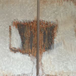 Ohne Titel, 2006, Acryl, 2 mal 80 x 10 x 4 cm