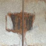 Ohne Titel, Acryl, 2 mal 80 x 10 x 4 cm