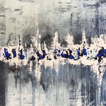 Der Winter ist schön, 2018, Acryl, 70 x 100 x 2 cm
