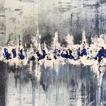 Der Winter ist so schön, 2018, Acryl, 70 x 100 x 2 cm
