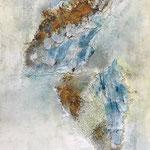 Engel, 2018, Acryl, Mischtechnik, 90 x 60 x 4 cm