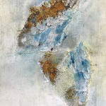 """Engel"" -   Acryl, Mischtechnik, 90 x 60 x 4 cm"