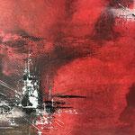 """Auf Reisen"" -  Acryl, 50 x 70 x 2 cm"