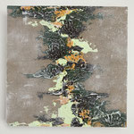 Ohne Titel, 2018, Acryl auf MDF-Platte, 20 x 20 cm x 3 cm