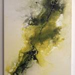 """Morgenstunde""  -  Acryl, Mischtechnik, 60 x 90 x 4 cm"