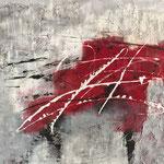 Ohne Titel, 2015, Acryl, Strukturmasse, 120 x 100 x 4 cm