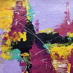 Farbenspiel, 2017, Acryl, 50 x 60 x 2 cm
