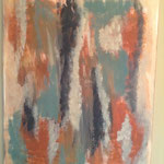 Ein Paar, 2006, Acryl, 80 x 60 x 2 cm