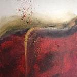 """Vulkan"" -  Acryl, 80 x 60 x 2 cm"