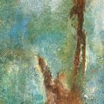 Rost, 2019, Acryl, Strukturmasse, Mischtechnik, 70 x 50 x 2 cm