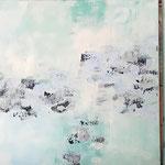 """Eisland"" -  Acryl, 3 mal 45 x 45 x 4 cm"