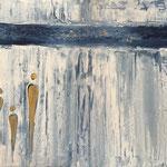 Ohne Titel, Acryl, Reliefpaste, 60 x 80 x 2 cm