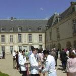 chateau de Condé 956yd² courtyard