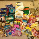 Futterspenden aus der Schweiz