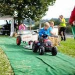 Mini-Traktor-Pulling am Jubiläumsfest 2019