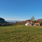 Unser Hof in der Landschaft Wyssbach bei Madiswil BE