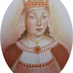 Eleanor of Castille 8 x 6.5 cm