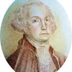 George Washington (from a $  bill) 7 x 5 cm