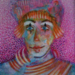 street entertainer 4.2 x 4.2 cm