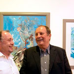 C.L.Attersee und E. Weidinger / Ausstellung Galerie Zwach Schörfling - Foto: Michael Maritsch