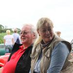 """Susanne & Bernd beim """"EINLEBEN"""" bei den Pantherfreunden West"""