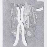 chromosom, Radierung/ etching