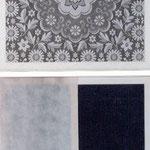 Detail des Muster und des anderen Rahmen
