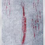 wurm/ worm, Radierung / etching