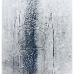 Körperform, Foto über Radierung/ Photograph and etching