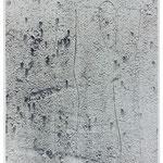 Körperform, Foto über Radierung/ Photograph and etching
