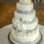 Nicola Knight - Wedding Tiered Cake