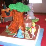 Kunst am Kuchen aus Obidos, Portugal Ferienhaus Urlaub