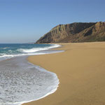 Küste vom Atlantik in Portugal, Praia del Gralha