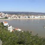 Sao Martinho do Porto, die Bucht für Strand und Urlaub