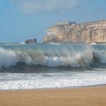 Barfuß am Strand, Urlaub in Portugal