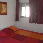 Schlafzimmer, Urlaub an der Costa de Prata, günstige Ferienwohnung in Sao Martinho do Porto
