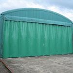 テント倉庫 カーテン