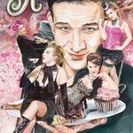Die Künstlerin Kane Kampmann malte das Plakat! Foto: Claudia Dalchow